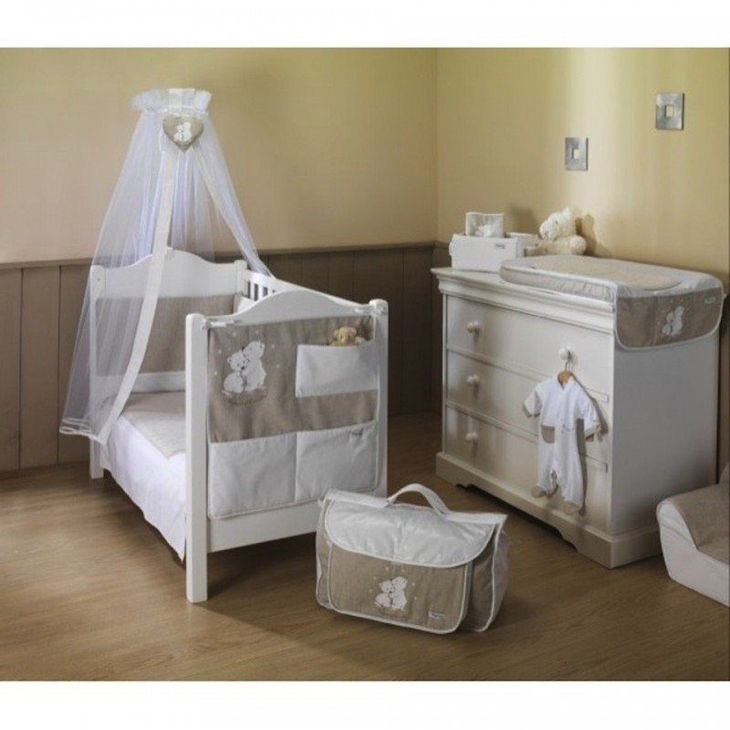 voile de lit nougat et cannelle univers baby. Black Bedroom Furniture Sets. Home Design Ideas