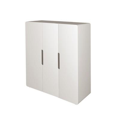 Armoire 3 portes Aspen Blanc