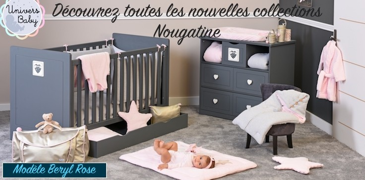 collection Beryl Rose de chez Nougatine