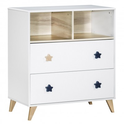 Commode Oslo boutons Etoiles