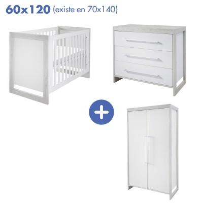 Chambre Frame lit 60x120