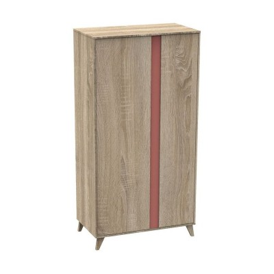 ARMOIRE 2 PORTES NOVA ROSE CANYON