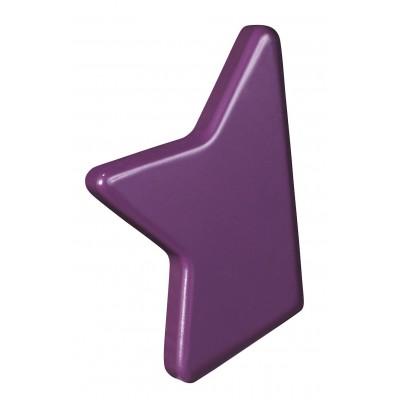 Bouton violet Nova