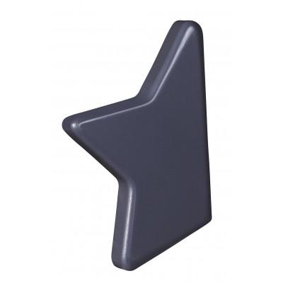 Bouton gris Titane Nova